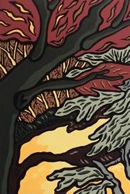 la caresse de l'arbre