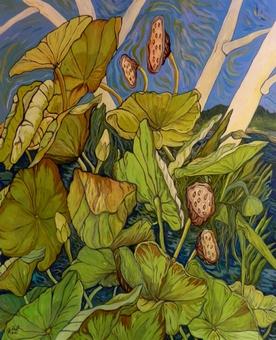 Plein soleil sur les lotus