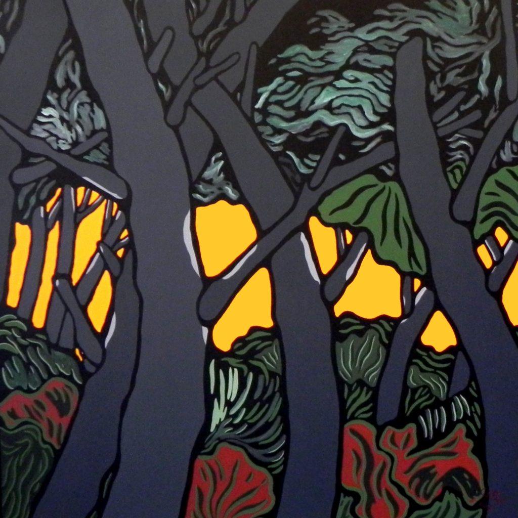 Sérénité sous les arbres